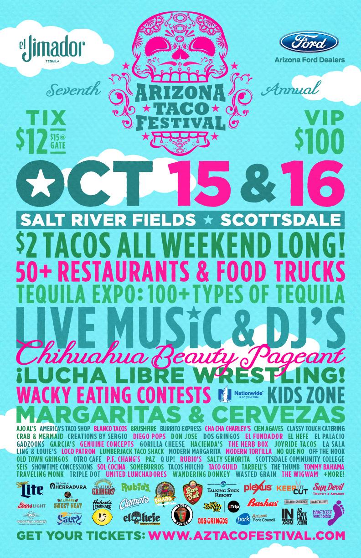 Arizona Taco Festival Poster