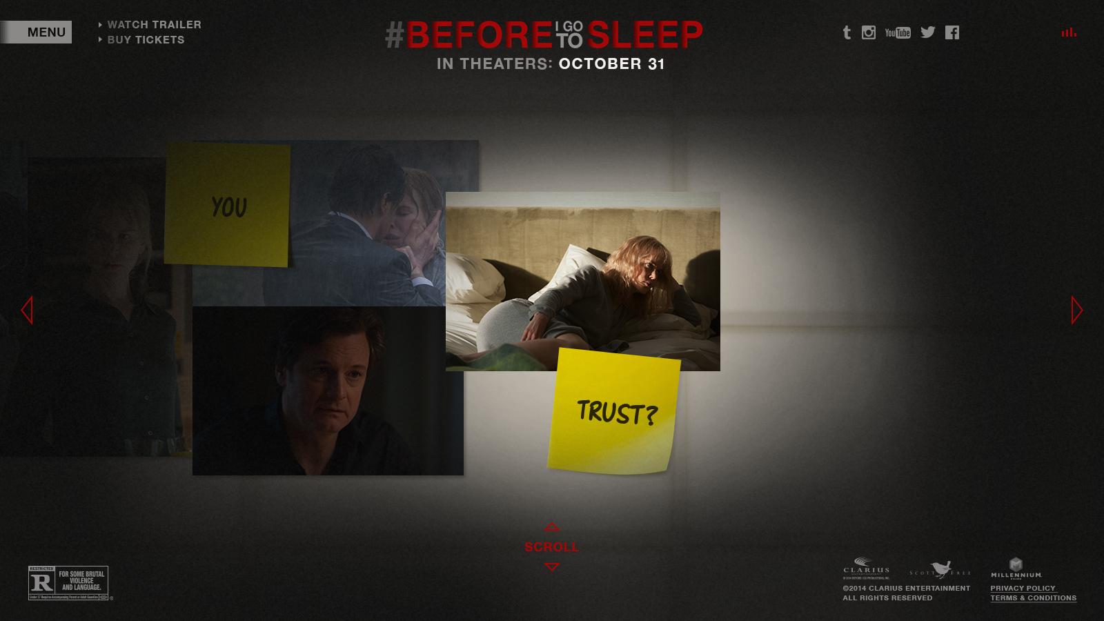 Before I Go To Sleep Movie